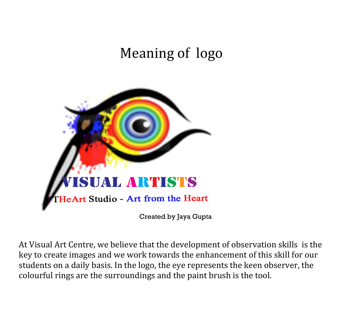 images?q=tbn:ANd9GcQh_l3eQ5xwiPy07kGEXjmjgmBKBRB7H2mRxCGhv1tFWg5c_mWT The Visual Arts Logo Site Guide @capturingmomentsphotography.net